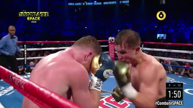 Watch Canelo VS Golovkin  PELEA COMPLETA HDTV 2017 GIF by @theafromentioned on Gfycat. Discover more canelo, canelo o golovkin, eric morales narracion pelea canelo vs volovky hdtv 2017 GIFs on Gfycat
