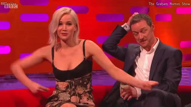 Watch and share Jennifer Lawrence GIFs and James Mcavoy GIFs on Gfycat