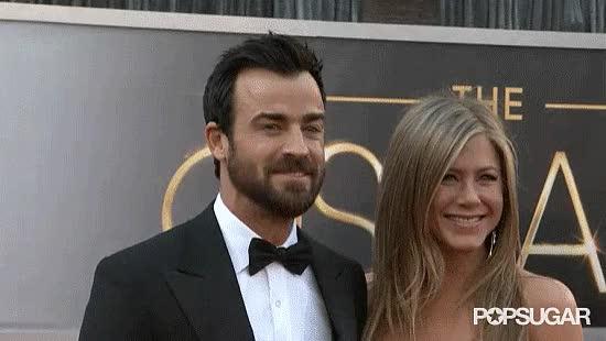 Watch and share Jennifer Aniston GIFs and Justin Theroux GIFs on Gfycat