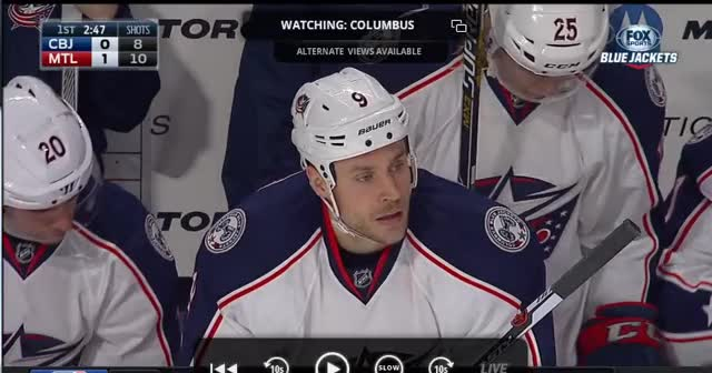 Watch and share Bluejackets GIFs and Hockey GIFs on Gfycat