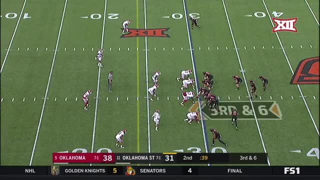 Watch and share 2017 NCAA Football Week 10: Oklahoma At Oklahoma State GIFs on Gfycat