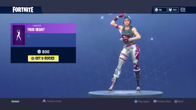 True Heart : Fortnite Emote