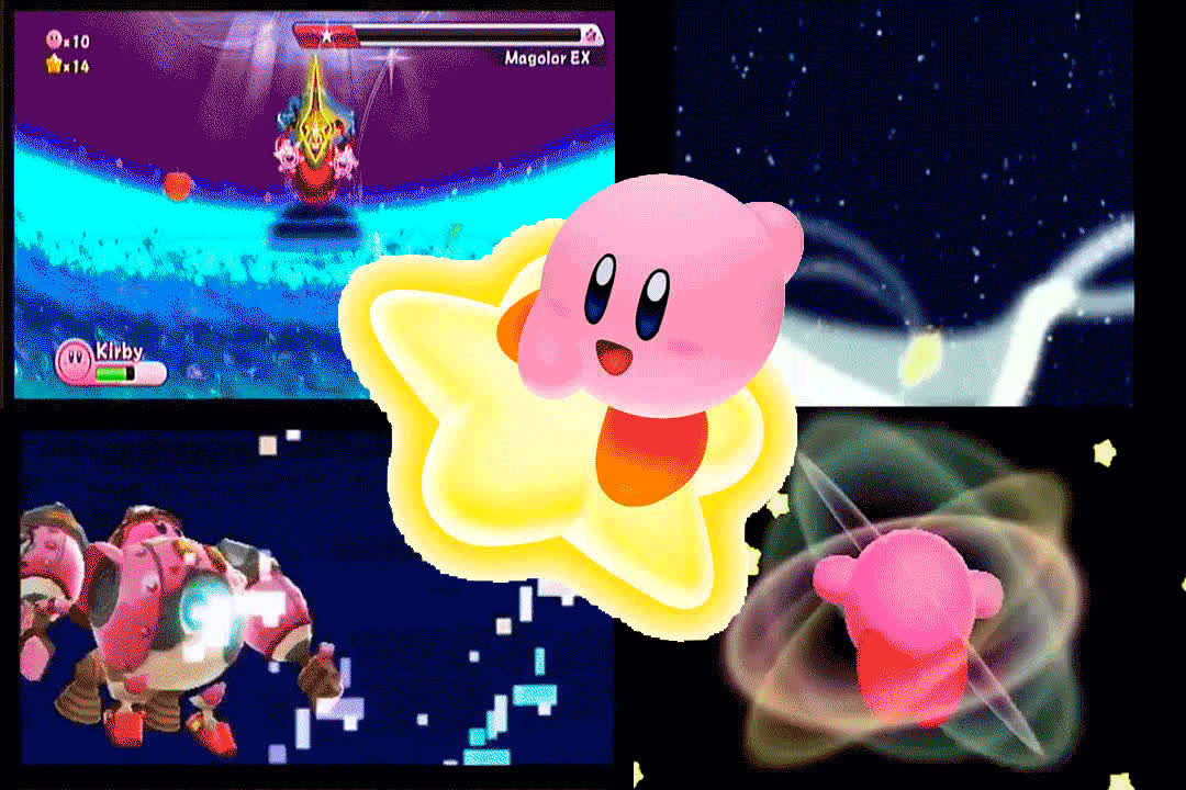 Halberd, Hypernova, Kirby, Star Rod, Ultra Sword, Kirby GIFs