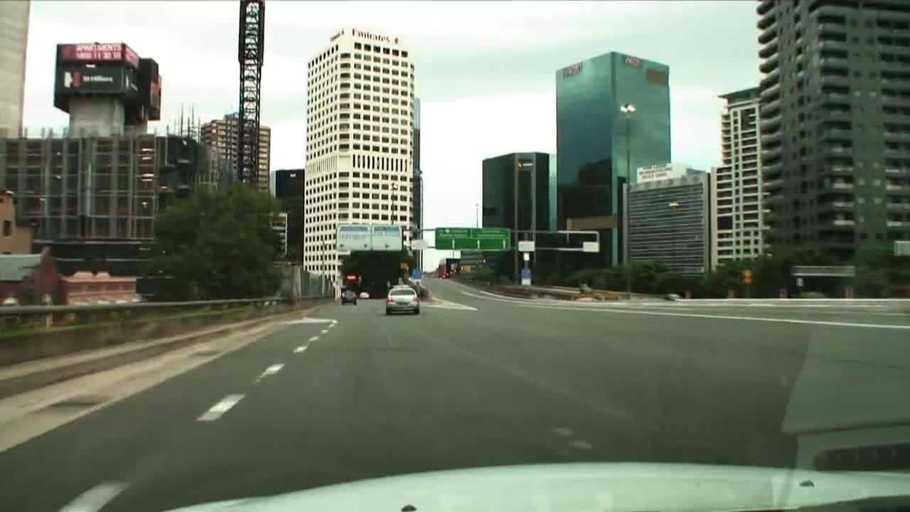 Circular Quay, Oz Jet Thrill Ride, tourism, Sydney Streetscape - Driving the streets of Sydney, Australia GIFs