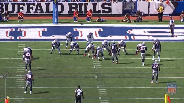Watch and share Jamie Collins Sack Vs. Buffalo GIFs by clevezirm on Gfycat