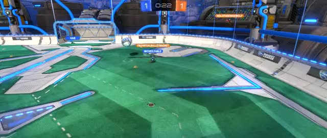Watch and share Rocket League GIFs by wickedfable on Gfycat