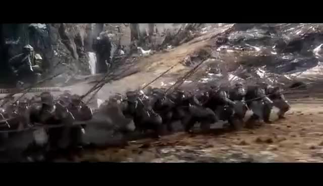 Watch The Hobbit: The Battle of the Five Armies  -  Dwarves and Elves Charge on Orcs GIF on Gfycat. Discover more related GIFs on Gfycat