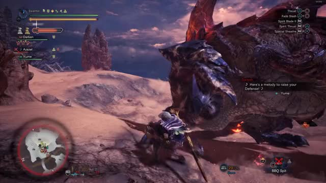 Watch and share Monster Hunter GIFs and Long Sword GIFs by Swanter on Gfycat