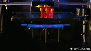Watch and share MakerBot 3D Printing Timelapse GIFs on Gfycat