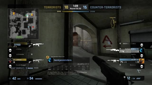 how to end warmup in csgo