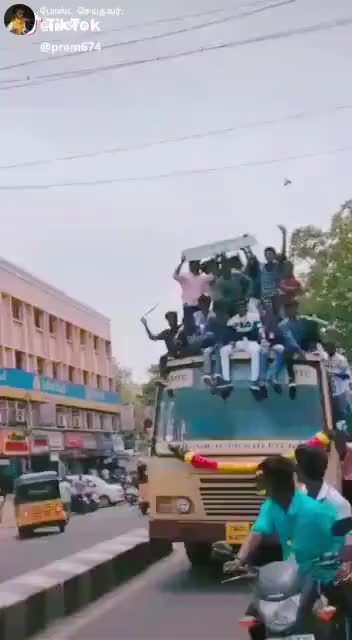 Watch and share Joy Ride Atop A Bus GIFs by Technog2 on Gfycat