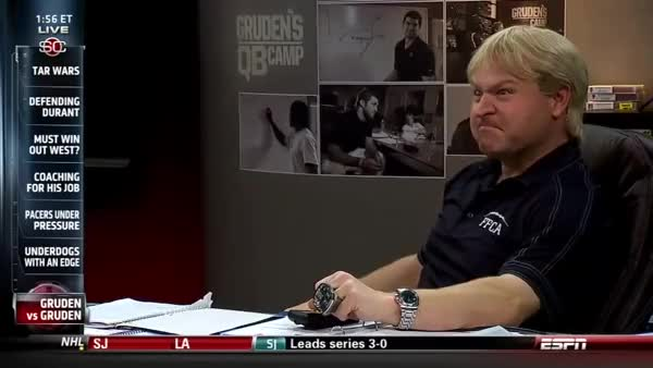 Watch and share Gruden Vs Gruden GIFs on Gfycat