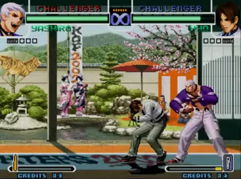 Watch and share KOF 2002 Combos De Yashiro Orochi Paso A Paso GIFs on Gfycat