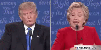 donald trump, Debate GIFs