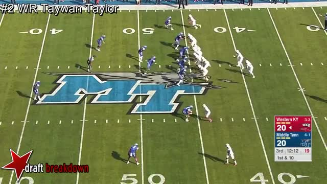 Watch and share WR Taywan Taylor Vs Middle Tennesse 2016 GIFs on Gfycat