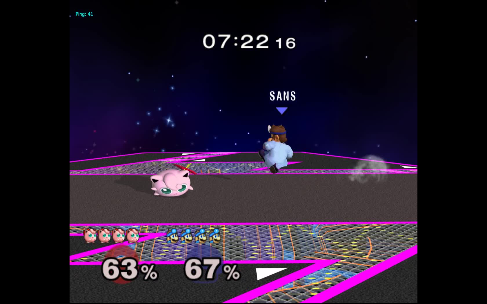smashgifs, ssbm, ssmb, full range f-air vs puff GIFs