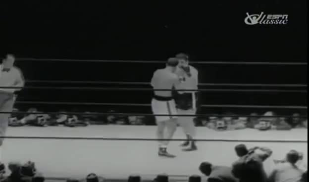 Watch and share Rocky Marciano Vs Roland LaStarza II GIFs on Gfycat