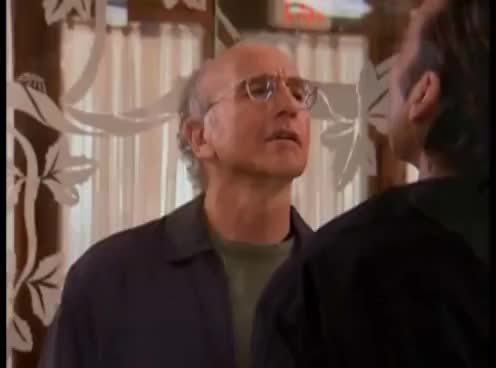 Watch and share Curb Your Enthusiasm - Stares GIFs on Gfycat