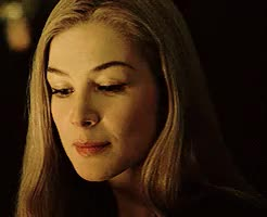 Watch and share Rosamund Pike GIFs and Amy Dunne GIFs on Gfycat