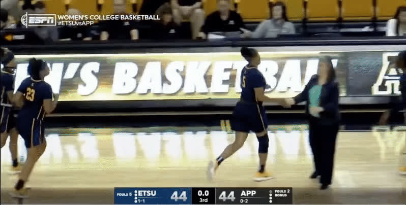 Coach Makes the Score Bug Disappear : breathinginformation GIFs
