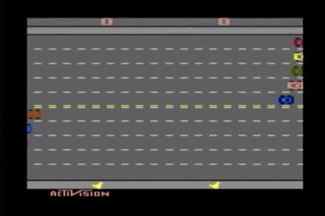 Watch Activision Classics - Freeway GIF on Gfycat. Discover more 2600, Activision, Atari, Car, Chicken, Classic, Collection, Freeway, Games, PlayStation, Run, Sony, Street, for, of, the GIFs on Gfycat