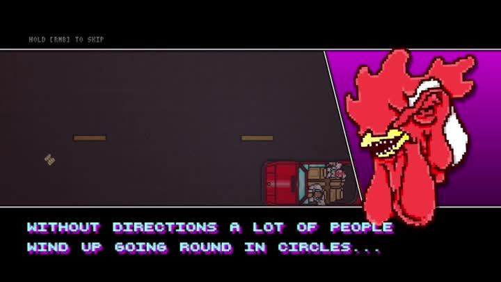 HotlineMiami, hotlinemiami, [SPOILER] Wise words from Richard (reddit) GIFs