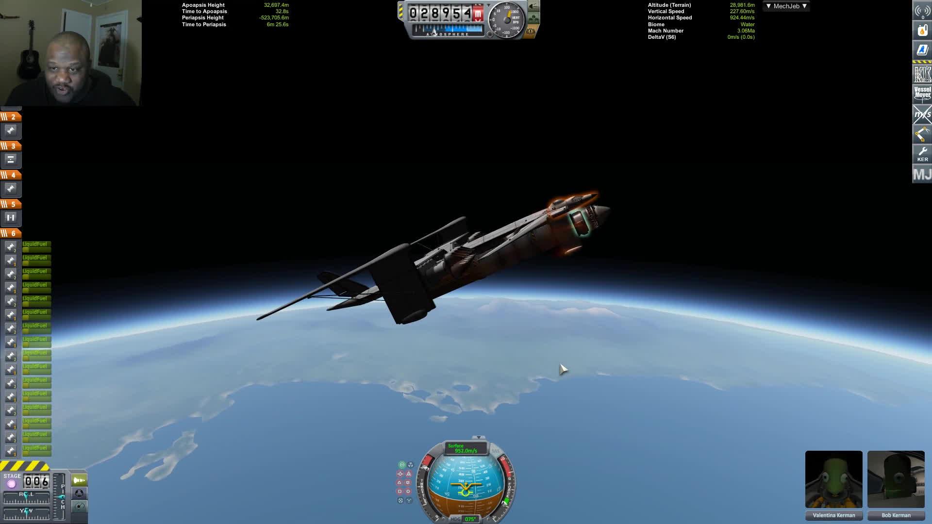 gameplay, jatwaa, jplays, Kerbal Space Program | The Nye Superlifter GIFs