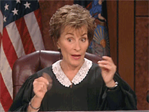 celebs, judge judy, judith sheindlin, judy sheindlin, tv court,  GIFs