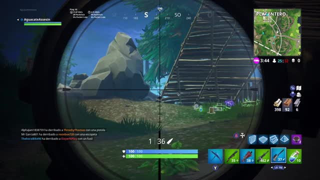 Watch Sniper GIF by Gamer DVR (@xboxdvr) on Gfycat. Discover more AguacateAssesin, FortniteBattleRoyale, xbox, xbox dvr, xbox one GIFs on Gfycat