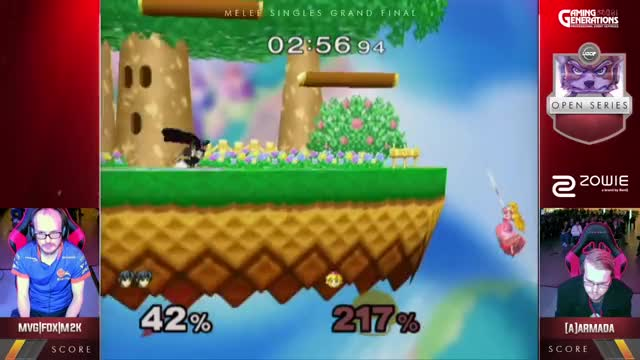 Watch UGC Smash | MVG|FOX|Mew2King (Marth) v [A]rmada (Peach) - Singles Grand Finals GIF on Gfycat. Discover more related GIFs on Gfycat