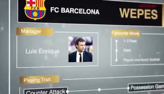 Watch PES 2017 | FC Barcelona Trailer | PS4 GIF on Gfycat. Discover more related GIFs on Gfycat
