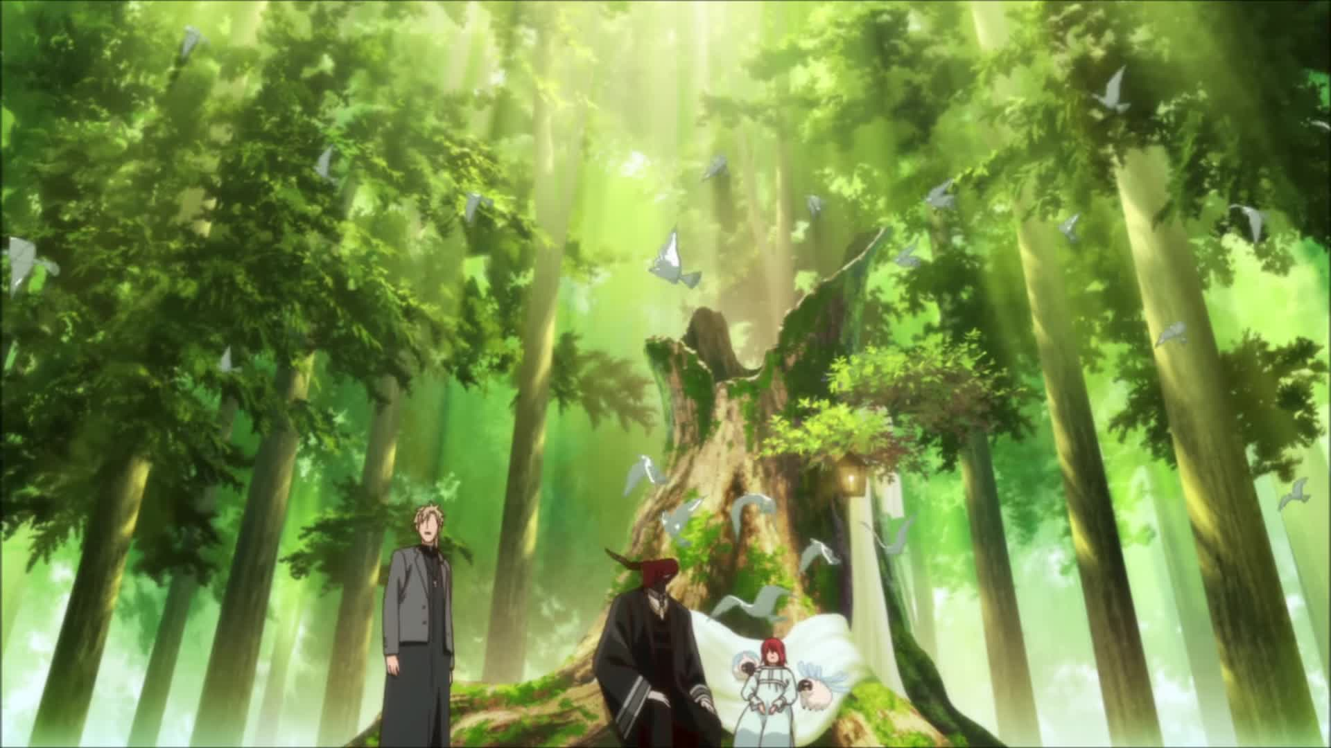 The Ancient Magus Bride The Forest Gif By Angel Adfectus Gfycat