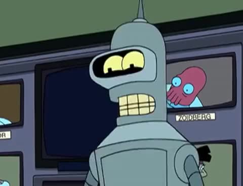 Watch and share Bender Bending Rodríguez - Best Moments GIFs on Gfycat