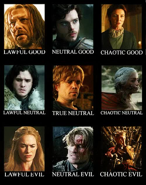 Watch and share Dnd Alignment Gameofthrones GIFs on Gfycat