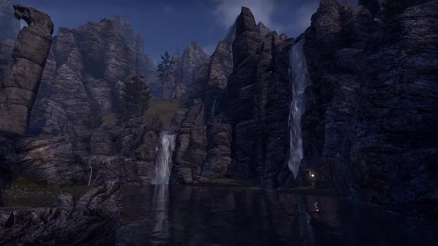 Watch and share ESO - Waterfalls GIFs by phyrex on Gfycat