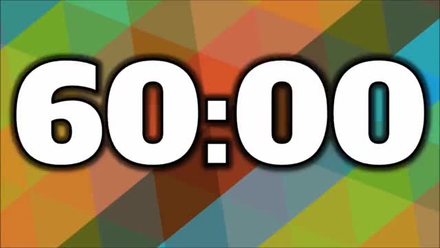 60 Minute Timer GIF | Find, Make & Share Gfycat GIFs