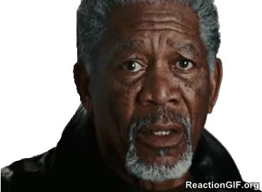 Watch confused Morgan Freeman shock shocked surprised say what GIF on Gfycat. Discover more morgan freeman GIFs on Gfycat