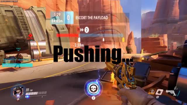 Watch and share Overwatch GIFs and Glitch GIFs by nopple on Gfycat
