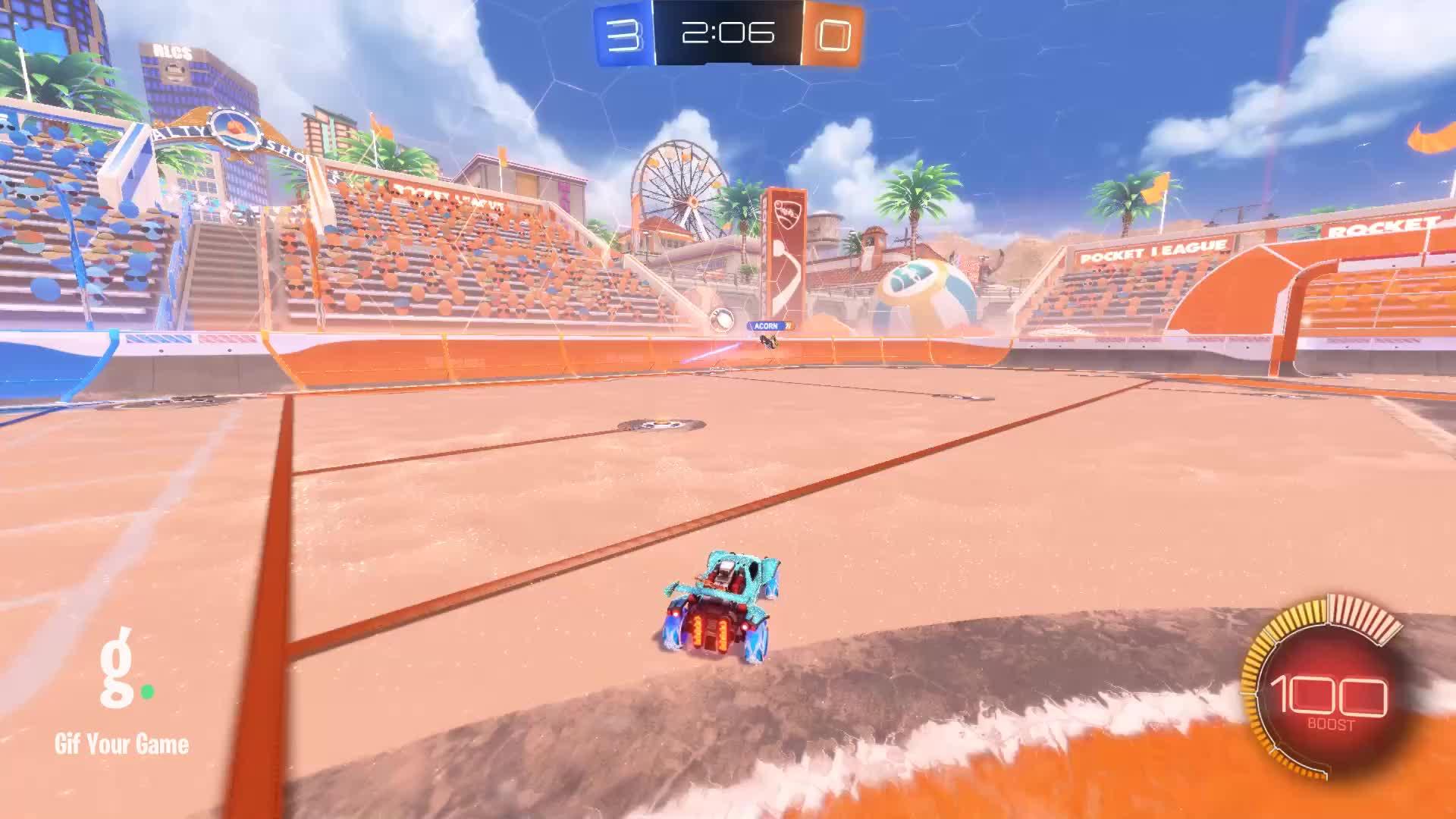 Ace, Gif Your Game, GifYourGame, Goal, Rocket League, RocketLeague, Goal 4: Ace GIFs