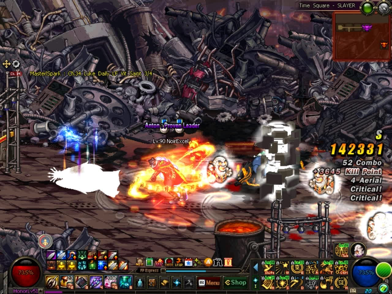 60fps, dfo, mmorpg, DFO Hell Mode Vol.82 GIFs