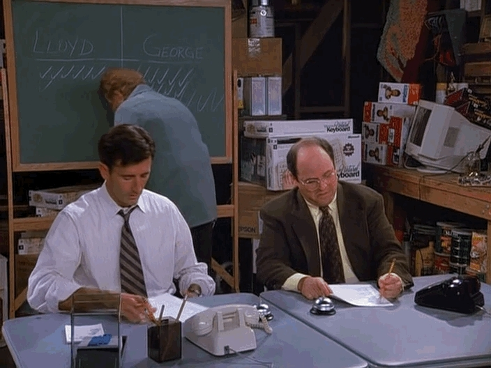 seinfeldgifs, I've got good news and bad news (reddit) GIFs