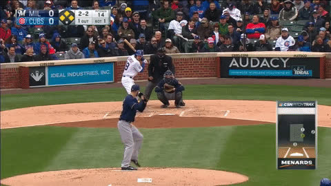 Cubs Related: Top 3 Game Changing Plays: CUBS (7) vs BREWERS (2) GIFs