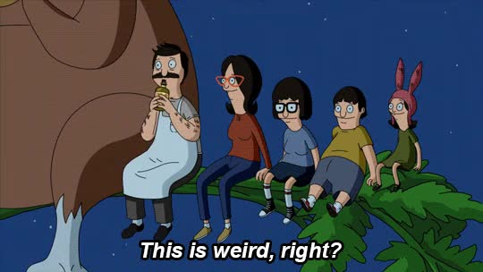 Watch and share Bobs Burgers GIFs and Weird GIFs on Gfycat