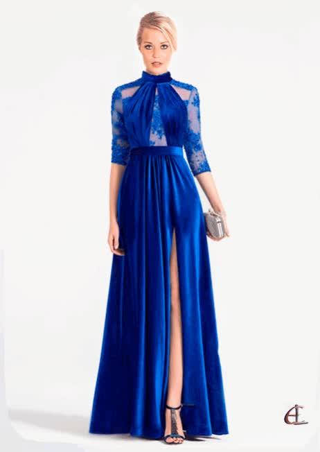 Watch and share Vestido Azul GIFs on Gfycat