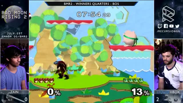 BMR2 - Zain vs Liquid Hungrybox - Winners Quarters