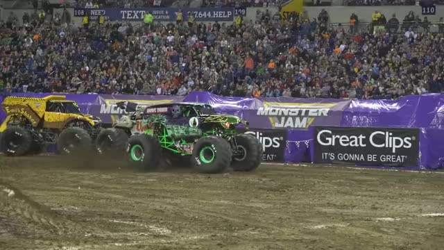 Watch and share Grave Digger GIFs and Monster Jam GIFs by jira on Gfycat