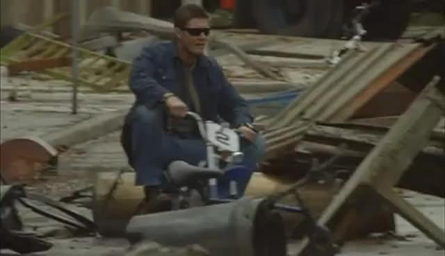 Jensen ride!