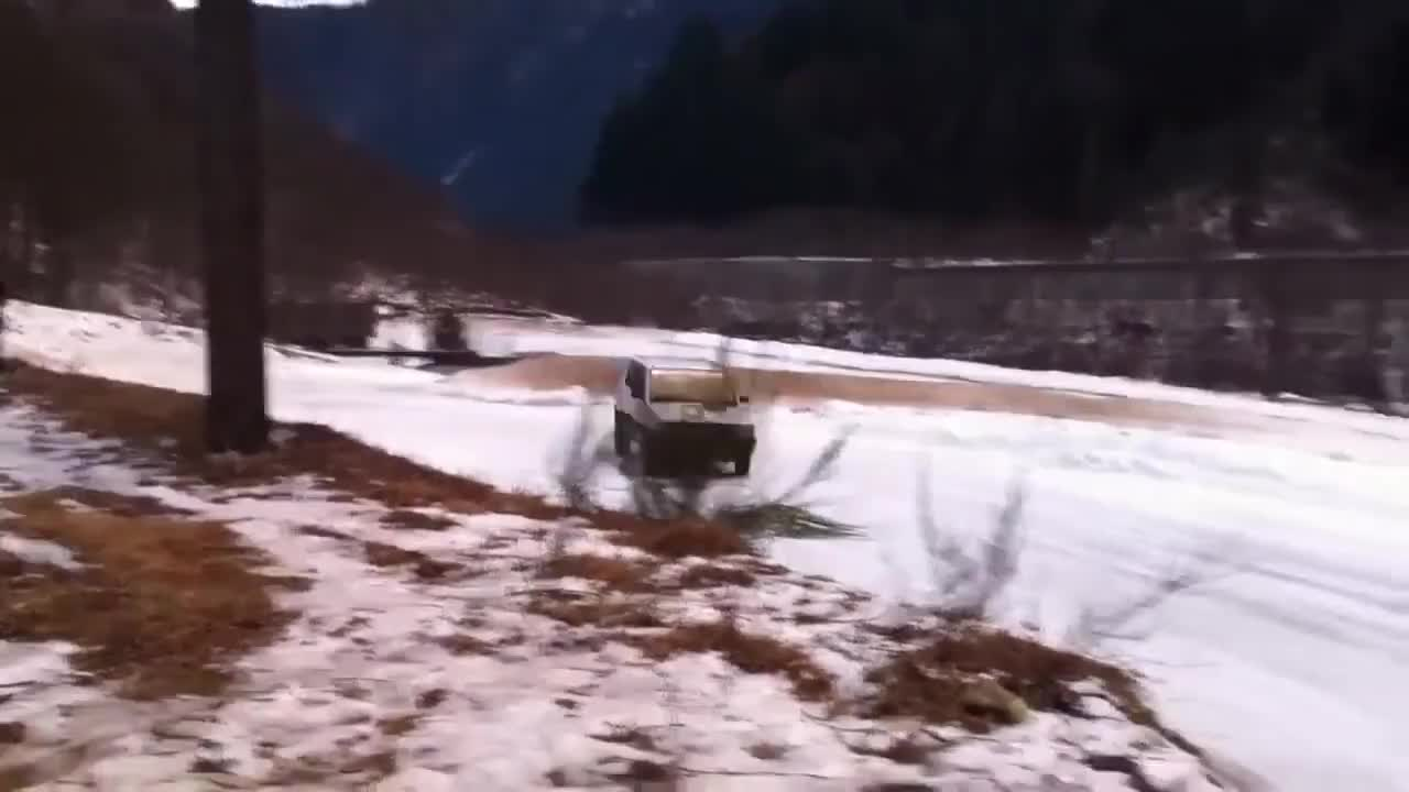 4x4, Road, Fiat Panda 4x4 sulla neve snow GIFs