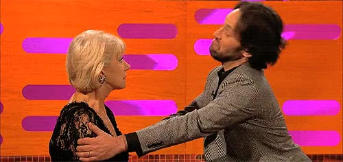 Watch and share Helen Mirren GIFs and Paul Rudd GIFs on Gfycat