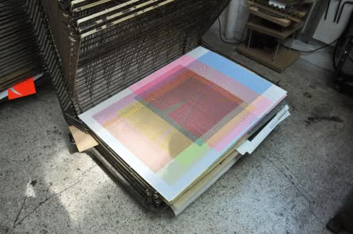 Watch and share Silk Screen GIFs and Serigraphy GIFs on Gfycat